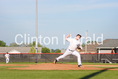 Clinton baseball vs. Davenport West — July 7, 2014