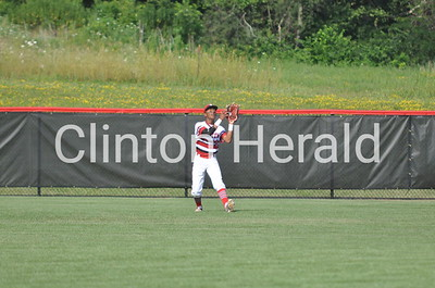 North Scott at Clinton baseball (7-10-14)