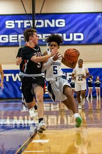 2019-12-03 -- Twinsburg Boys Junior Varsity Basketball vs Chagrin Falls High School Junior Varsity Basketball