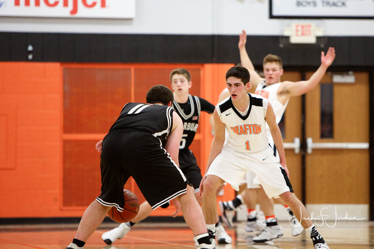Boys Basketball: Cedarburg at Grafton - January 14, 2017