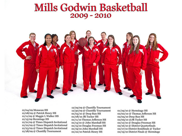 Godwin HS Basketball 2009