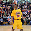 "The Harlem Wizards take on the North Penn School District ""Dream Team"" as they entertain the huge crowd gathered at North Penn High School for their game to benefit the North Penn Athletics Program on Saturday evening January 25,2014. Photo by Mark C Psoras/The Reporter"
