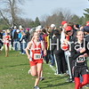 Prince of Peace junior Jackie Kokjohn (bib No. 484) didn't have her teammates on the course with her for the first time in three years, but she repeated her 26th-place finish from 2011 in the Class 1A girls competition. She ran the 4,000-meter course in 15:45. Sophomore Rebekah Topham (bib No. 370) of team champion Griswold won her second consecutive individual crown in 14:05.  Marquette Catholic earned a seventh-place finish, led by Sarah Lampe (bib No. 382) in 22nd place. The other Marquette runners were Theresa Koos (381), Katherine Herrig (379), Molly Sieverding (385), Anne Nolting (383), Kristina Koos (380) and Grace Sieverding (384).