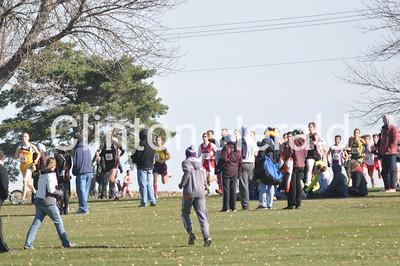 Iowa Class 3A boys cross country state meet (11-1-14)