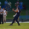 HALEY WARD | THE GOSHEN NEWS <br /> Fairfield quarterback Zac Lantz looks to pass the ball during the game against Niles Friday at Fairfield Junior-Senior High School.