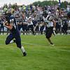 HALEY WARD   THE GOSHEN NEWS<br /> Fairfield running back Connor Kitson runs down field Friday at Fairfield Junior-Senior High School.