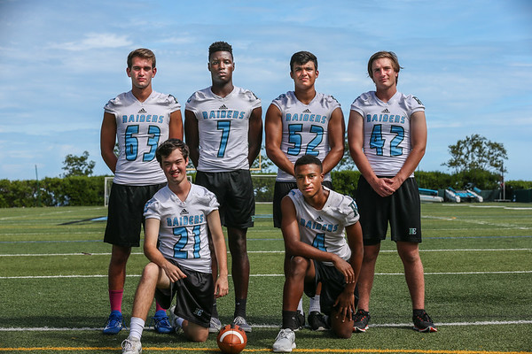 Ransom Everglades Football Team Photo Shoot