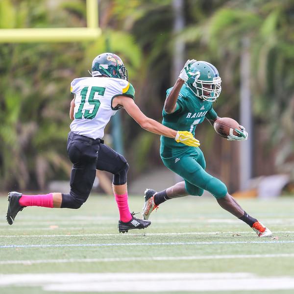 Ransom Everglades Football vs. Coral Shores