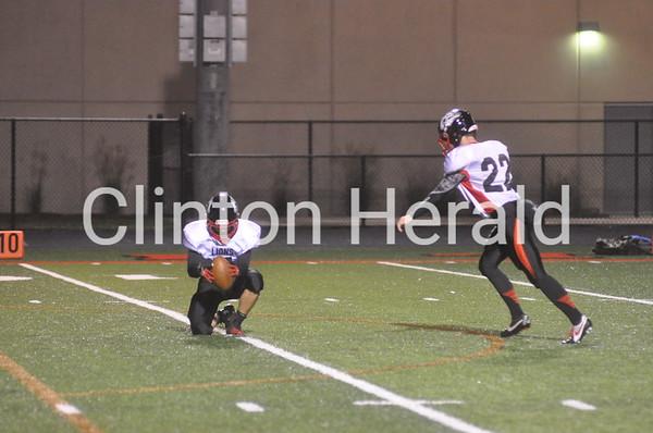 Linn-Mar at Clinton football (9-12-14)