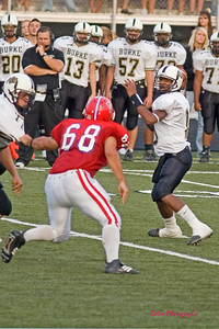 Millard South vs Burke - Jake Mroczek on the pass rush