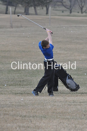 Bellevue at Camanche boys golf (4-7-14)