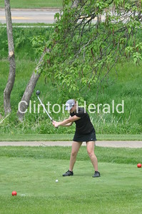 Clinton girls at regional golf (5-27-14)