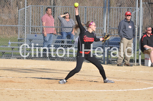 Hall at Fulton softball (4-18-14)