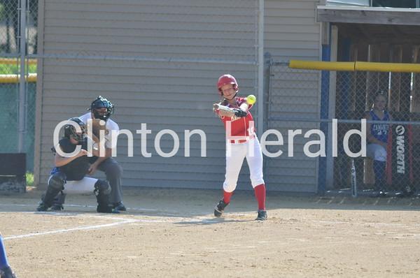 Marquette Catholic at Camanche softball (7-1-13)