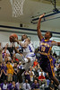 CHS's Adonis Banks goes up off balance as Corinth's Ki-yon Walden tries to defend.Photo by Dean Strickland OD.