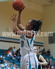 West Johnston's Jarmelia Holder (30) goes up for a lay-up in 1st half action against Clayton High. The Clayton girls won the Greater Neuse River Conference game 74-43 held at West Johnston High School on February 7, 2012. Photo by Dean Strickland OD.