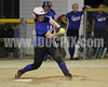 Kaci Dilday drove in the winning run in the last inning. This pic from 4th inning.