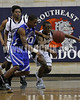 Clayton won the Greater Neuse River Conference game 58-48  played at Southeast Raleigh High. Photo by Dean Strickland OD.