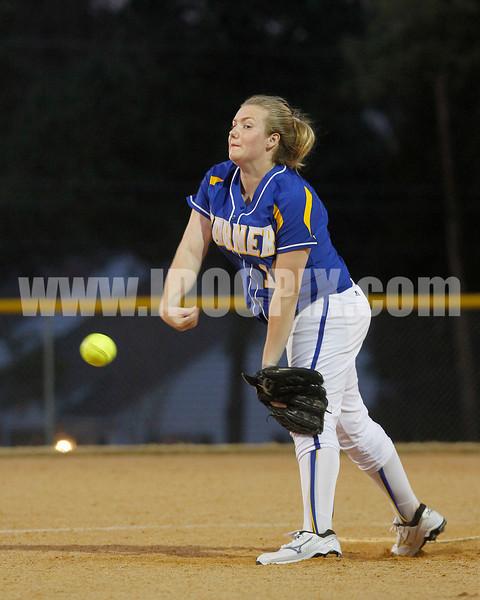 Garner pitcher  Lauren Marbrey (10)