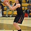 Paul DiCicco - The News-Herald<br /> North's Destiny Leo attempts a free-throw.