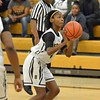 Paul Dicco - The News-Herald<br /> Brush's Danajah Sanders shoots a 3-pointer in the first quarter against North.