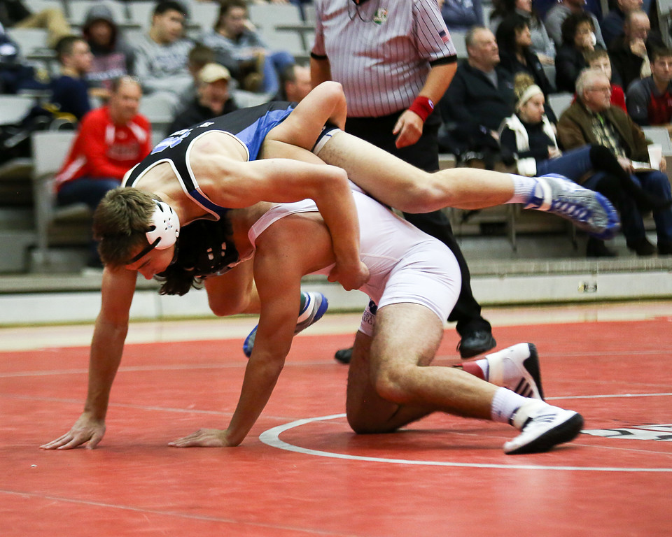 . Coleen Moskowitz - The News-Herald Scenes from the final day of the Perry Pin City wrestling tournament on Jan. 6, 2018.