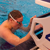 2017 - Swimming - Western Reserve Championships at Spire Institute.  Riverside's Charles Marshall wins the 100 yard Backstroke in a time of 55.70 a new meet record. David Turben - The News-Herald