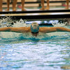 2017 - Swimming - Western Reserve Championships at Spire Institute.  Willoughby South swimmer Dino Jajcanin swims in the 100 yard Butterfly. David Turben - The News-Herald