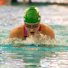 2017 - Swimming - Western Reserve Championships at Spire Institute.  Mayfield swimmer Gianna Ferrante comes out of the water on the breastroke leg of the 200 yard IM. David Turben - The News-Herald