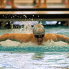 2017 - Swimming - Western Reserve Championships at Spire Institute.  Willoughby South swimmer Dino Jajcanin swims in the 100 yard Butterfly winning in a time of 53.22 a new meet record. David Turben - The News-Herald