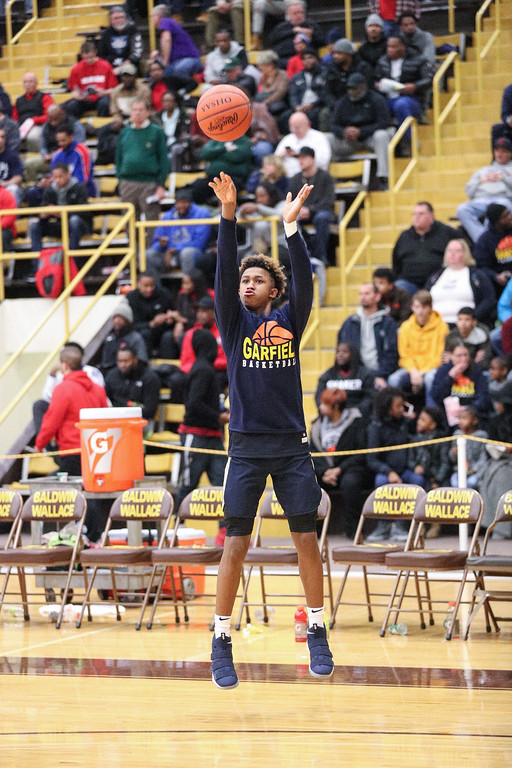 . Tim Phillis - The News-Herald Scenes from the Brush vs. Garfield Heights boys basketball game on Jan. 7 at Baldwin Wallace.