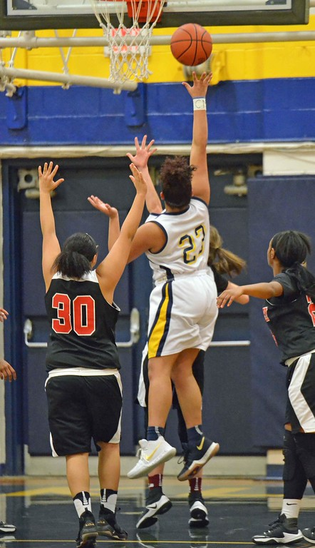 . Paul DiCicco - The News-Herald Photos from the Harvey at Wickliffe girls basketball game on Jan. 13.