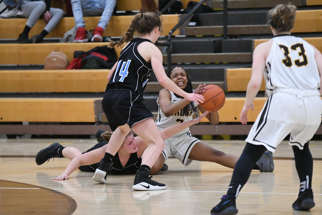 . Patrick Hopkins - The News-Herald Photos from the Brush vs. South girls basketball game on Jan. 17, 2018.