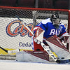 Jon Behm - The Morning Journal<br /> Bay goalie Spencer O'Connell makes a save during the third period against Olmsted Falls on Jan. 20 at Quicken Loans Arena. O'Connell made 39 saves in the Rockets' victory.