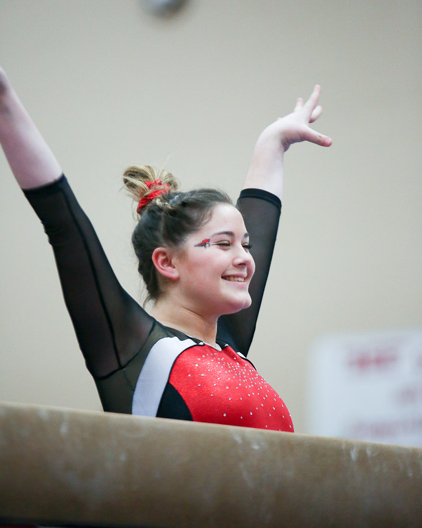 . Coleen Moskowitz - The News-Herald Cady Cousins of Perry during the Rock n\' Roll Classic on Jan. 21 at Brecksville-Broadview Heights.