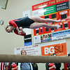 Coleen Moskowitz - The News-Herald<br /> Miranda Butterfield of Mentor on the beam dismount during the Rock n' Roll Classic on Jan. 21 at Brecksville-Broadview Heights.