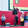 Coleen Moskowitz - The News-Herald<br /> Cady Cousins Perry performs a back tuck during the Rock n' Roll Classic on Jan. 21 at Brecksville-Broadview Heights.