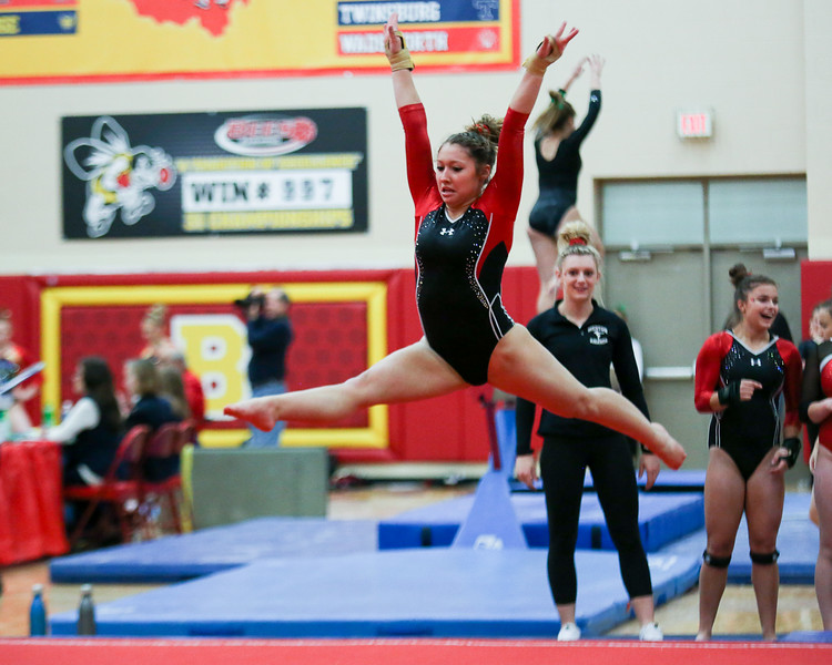 Coleen Moskowitz - The News-Herald<br /> Olivia Wilson of Mentor during the Rock n' Roll Classic on Jan. 21 at Brecksville-Broadview Heights.