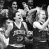 Ledgemont's Mandi Larlein, Jasey Moseley and Nicole Demchak in 1995.