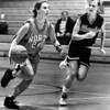 Terra Bukovec of North and Chardon's Tiffany McGuire in December 1992.