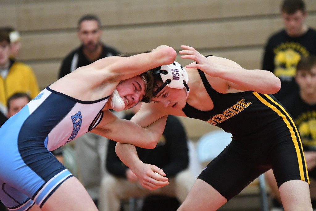 . Patrick Hopkins - The News-Herald Photos from the Division I state duals subregional on Jan. 24 at Mentor High School.