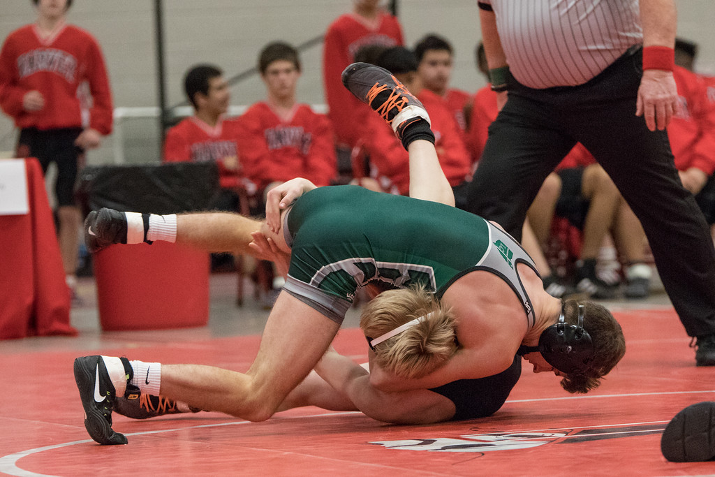 . Sharon Holy - The News-Herald Photos from the Division II state duals subregional on Jan. 24 at Perry.