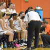 Paul DiCicco - The News-Herald<br /> North coach  Paul Force talks things over late in the game.