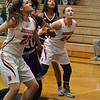Paul DiCicco - The News-Herald<br /> North defenders box out after a free throw.