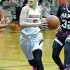 Paul DiCicco - The News-Herald<br /> North's Ally Lako drives the lane on a fast break.