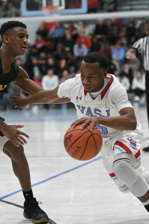 . Patrick Hopkins - The News-Herald Photos from the St. Edward at VASJ boys basketball game on Jan. 27, 2018.