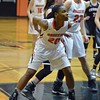 Paul DiCicco - The News-Herald<br /> North's Anaunda Lyons boxes out down low on a foul shot.