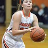 Paul DiCicco - The News-Herald<br />  North's Destiny Leo shooting a foul shot early in the game.