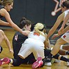 Paul DiCicco - The News-Herald<br />  Another fight for a loose ball resulting in a jump-ball.
