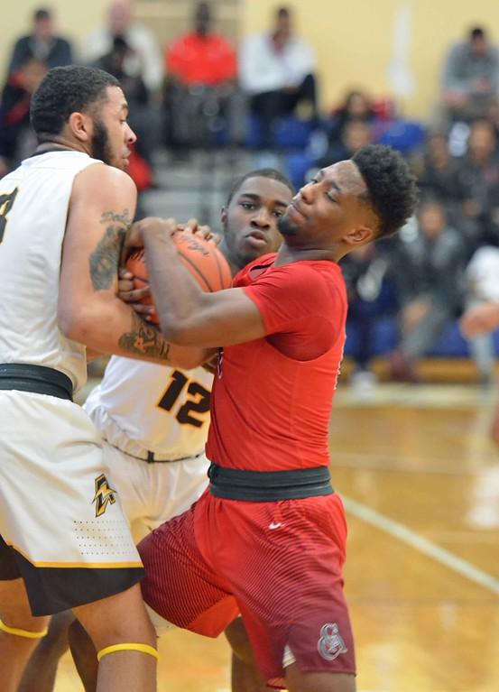 . Paul DiCicco - The News-Herald Photos from the Brush vs. Cornerstone Christian boys basketball game on Jan. 28, 2018.